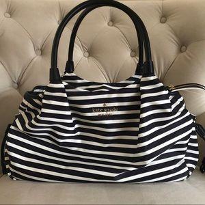 Kate Spade Stripped Stevie Baby Bag